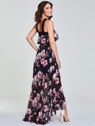 9488f2e3694c Myleene Klass Ladder Trim Maxi Dress - Black