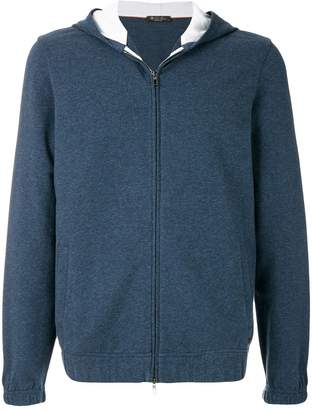 Loro Piana zipped hooded jacket