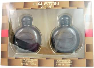 Halston Z-14 for Men Set-Cologne Spray 4.2 Ounces and Aftershave 4.2 Ounces