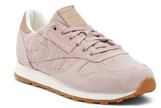 Reebok Classic Leather Knit Sneaker