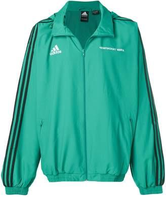 Gosha Rubchinskiy x Adidas zipped logo track jacket