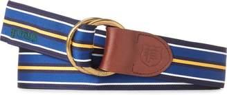 Ralph Lauren Grosgrain O-Ring Belt