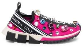 Dolce & Gabbana Multi-Color Jewel Sneakers