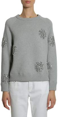 MICHAEL Michael Kors Round Collar Sweatshirt