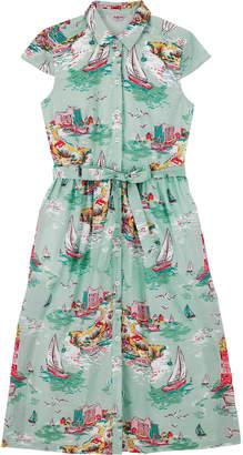 Cath Kidston Tresco Cotton Midi Shirt Dress
