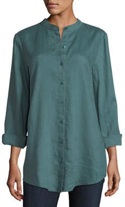 772fa65aecc Women's Button Front Linen Tunic - ShopStyle