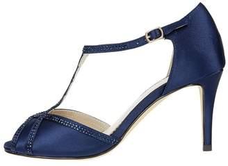 Monsoon Blue Dalia Diamante Sparkle Sandals