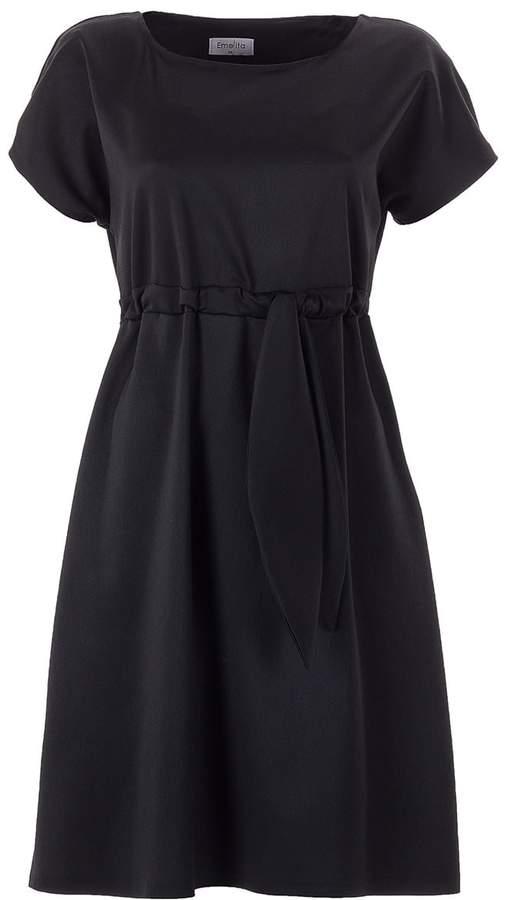 Emelita - Black Open Mini Dress