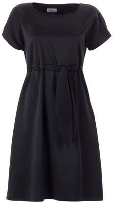 Emelita - Black Kimono Sleeves Mini Dress