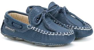 Baby Walker lace-detail loafers