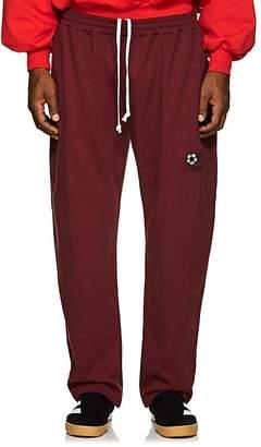 Gosha Rubchinskiy Men's Embroidered Cotton Terry Sweatpants