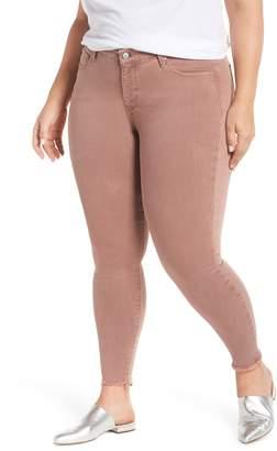 Lucky Brand Lolita Raw Hem Stretch Skinny Jeans
