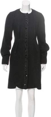 Diane von Furstenberg Wool Macroon Coat