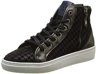 Gaastra Womens 1641 102701 Hi-Top Trainers Black Size: