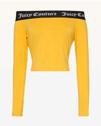 Juicy Couture Juicy Jacquard Off Shoulder Top