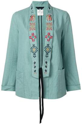 Forte Forte embroidered lapel blazer