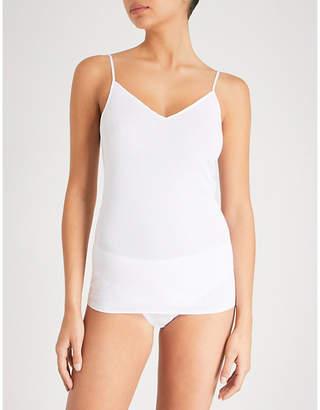 Hanro Seamless cotton camisole