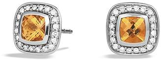 David Yurman Petite Albion Earrings with Citrine and Diamonds