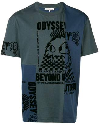 McQ deconstructed Odyssey T-shirt