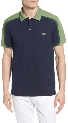 Lacoste Made in France Colorblock Pique Polo