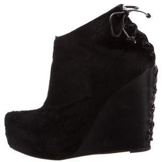 Jenni Kayne Ponyhair Wedge Booties
