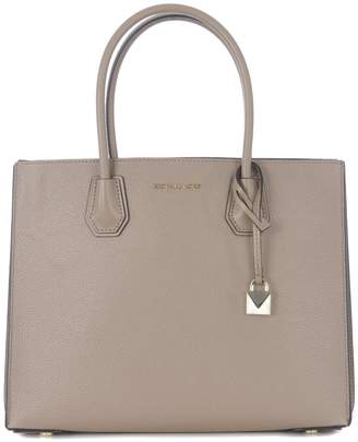 26b20ff4a5cb80 Michael Kors Beige Leather Tote Bags - ShopStyle