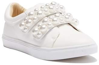 Betsey Johnson Tilie Pearl Embellished Sneaker