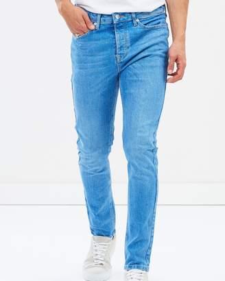 Topman Zingy Stretch Taper Jeans