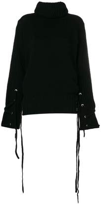 McQ side lace-up jumper