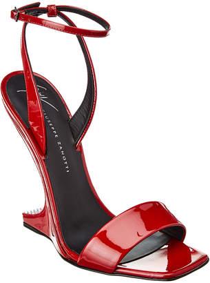Giuseppe Zanotti Ankle Strap Patent Sandal