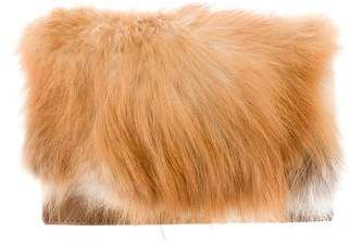 Zac Posen Tina Fur Clutch