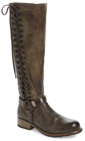 Bed Stu Burnley Knee-High Corset Boot