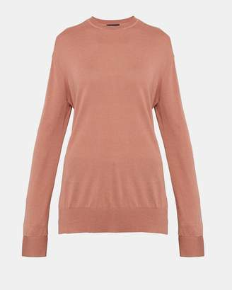 Theory Silk Blend Slouchy Pullover
