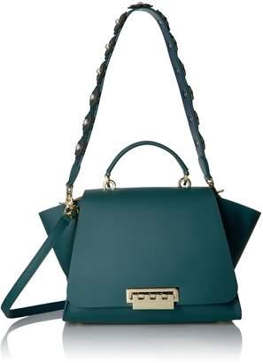 Zac Posen Eartha Iconic Soft Top Handle - Solid W/Novelty Strap Satchel Bag