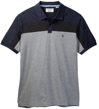 Original Penguin Athletic Two-Panel Polo (Big & Tall) $79 thestylecure.com