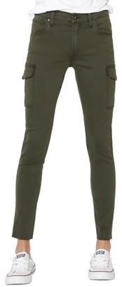 James Jeans Women's Twiggy Ankle Cargo Jean