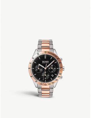 BOSS 1513584 Talent rose gold-plated quartz watch