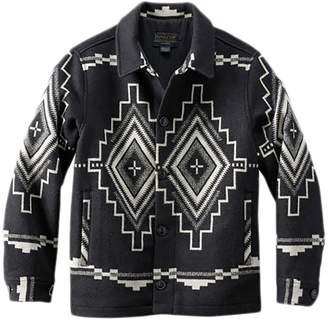 Pendleton Button Front Jacquard Coat - Men's