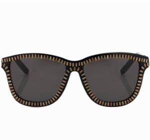 Alexander Wang Linda Farrow X  Zipper Frame Sunglasses