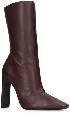 Yeezy By Kanye West Leather Stretch Boots 110