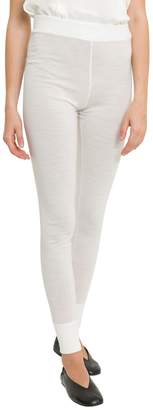 Jil Sander Knitted Leggings With Cuffs