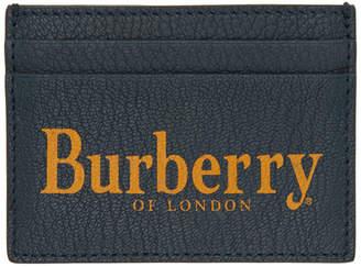 Burberry (バーバリー) - Burberry ブルー ロゴ Sandon カード ホルダー
