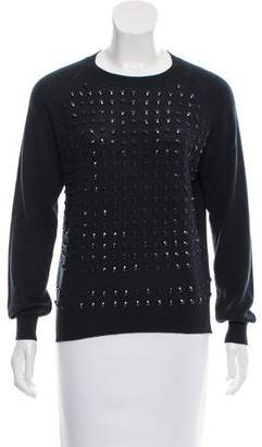 Golden Goose Beaded Wool-Cashmere Sweater
