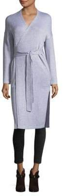 French Connection Heather Long Surplice Robe