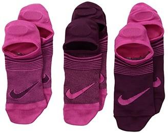 Nike Performance Lightweight Footie Socks 3-Pair Pack (Little Kid/Big Kid)