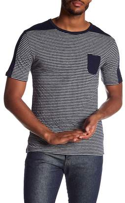 Slate & Stone Stripe Colorblock Tee