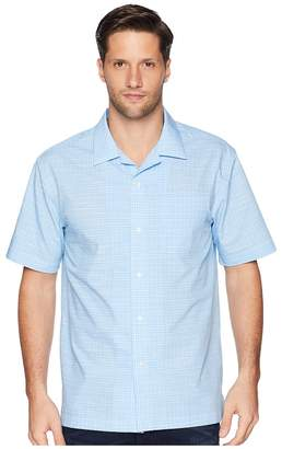Magna Ready Short Sleeve Magnetically-Infused Dress Shirt - Spread Collar Men's Clothing