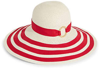 Lauren Ralph Lauren Striped Packable Sun Hat