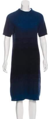 Fendi Short Sleeve Sweater Dress multicolor Short Sleeve Sweater Dress
