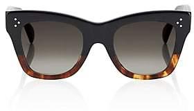 Celine Women's Squared Cat-Eye Sunglasses-Brown